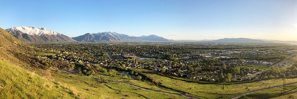 Panorama of Springville City