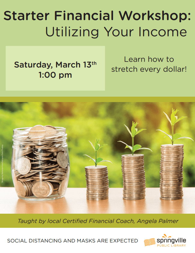Financial Workshop @ Springville Public Library