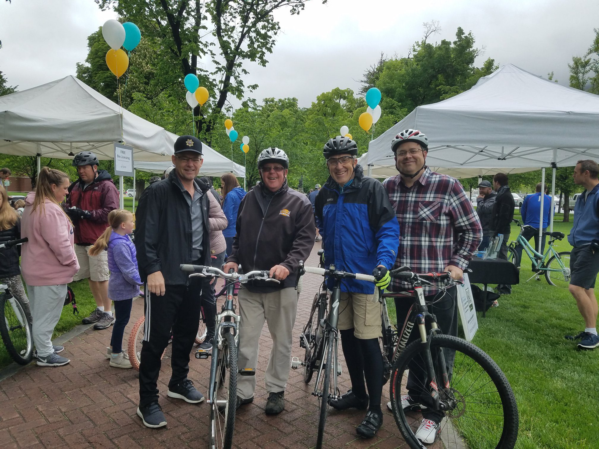 Bike with the Mayor @ Springville Civic Center